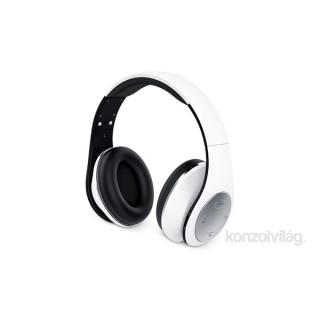 Genius HS-935BT összehajtható fehér mikrofonos bluetooth fejhallgató PC