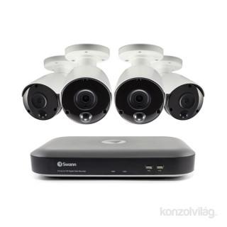 Swann SWDVK-849804 8 csatornás megfigyelő rendszer 4 db hőérzékelős kamerával PC