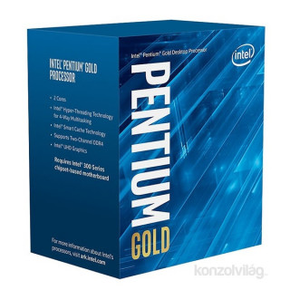 Intel Pentium 3,70GHz LGA1151 4MB (G5400) box processzor PC