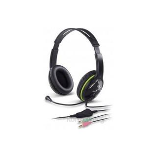 Genius HS-400A jack zöld headset PC