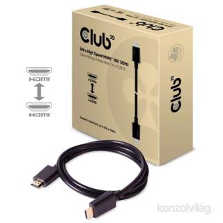 CLUB3D HDMI 2.1 - Ultra High Speed HDMI 10K 120Hz 1m kábel PC