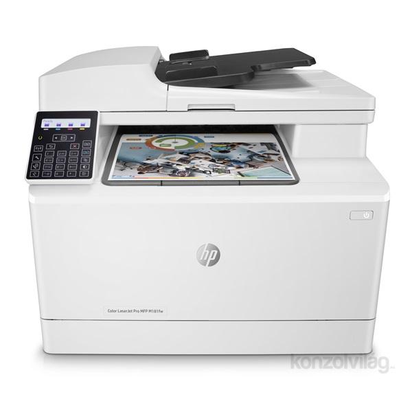 f5a2264f10 HP Color LaserJet Pro MFP M181fw színes multifunkciós lézer nyomtató PC -  akciós ár - Konzolvilág