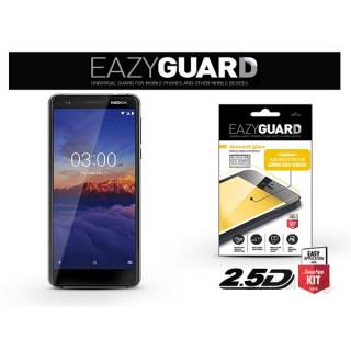 EazyGuard LA-1376 2.5D Nokia 3.1 fekete kijelzővédő fólia PC