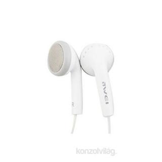 Awei ES-10 Ear-bud fehér fülhallgató PC