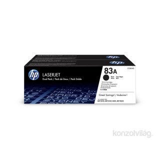 HP CF283AD (83A) fekete duo-pack toner PC