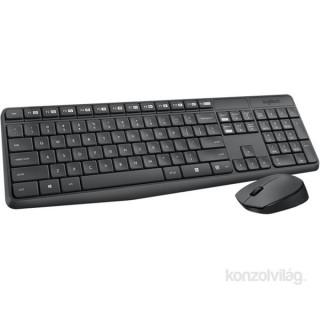 Logitech MK235 wless fekete HUN egér + billentyűzet PC