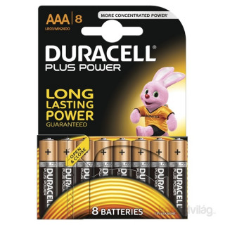 Duracell BSC 8 db AAA elem PC