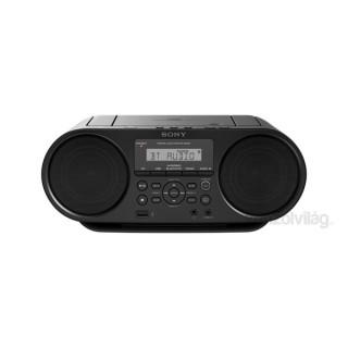 Sony ZSRS60BT.CET hordozható Bluetooth fekete CD rádió PC