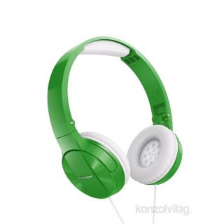 Pioneer SE-MJ503-G zöld fejhallgató PC