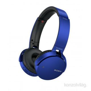 SONY MDRXB650BTL.CE7 kék vezeték nélküli fejhallgató PC