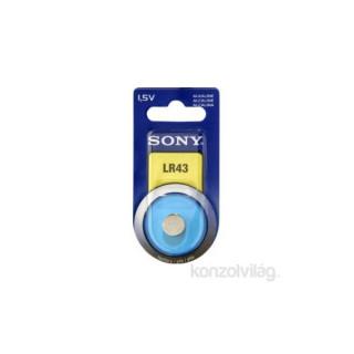 Sony LR43 (V12GA) fotó és kalkulátor elem 1db/bliszter PC
