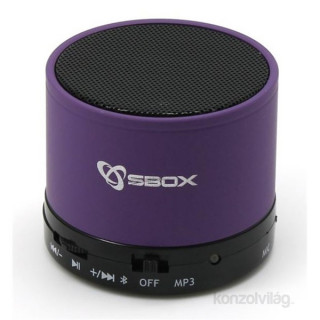 Sbox BT-160U Bluetooth lila hangszóró PC