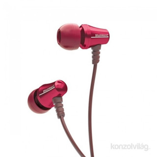 Brainwavz Jive In-Ear piros fülhallgató headset PC