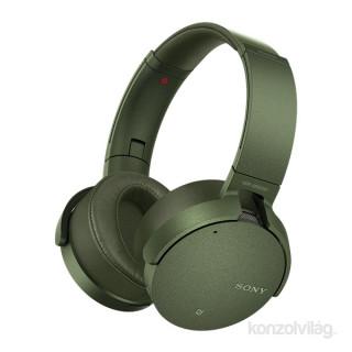 SONY MDRXB950N1G.CE7 extra bass bluetotth zöld fejhallgató zajszűréssel aptX PC