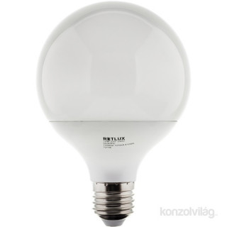 Retlux RLL 276G95 15W 4100K E27 hideg fehér nagy gömb izzó PC