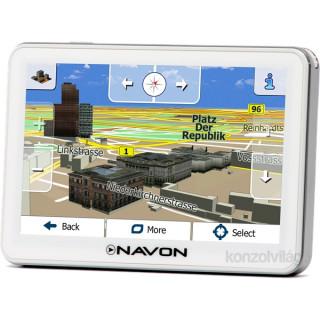 NAVON N670 Plus fehér 5