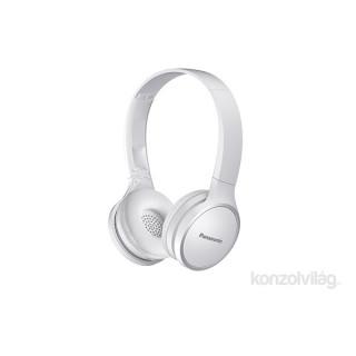 Panasonic RP-HF400BE-W Bluetooth sztereó fehér fejhallgató PC
