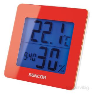 Sencor  SWS 1500 RD piros időjárás állomás PC