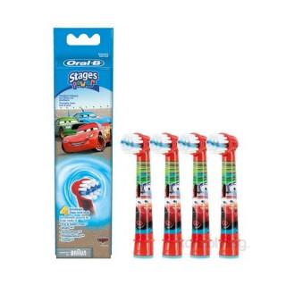 Oral-B EB10-4 Cars gyermek fogkeféhez pótfej Otthon