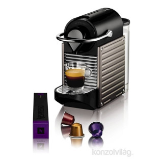 Krups XN3005CP Nespresso Pixie Electric Titan kapszulás kávéfőző Otthon