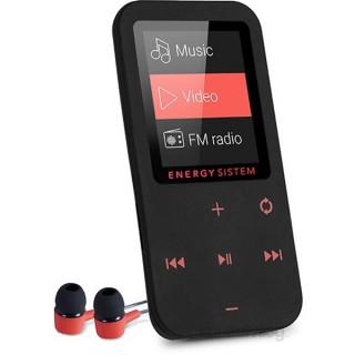Energy Sistem EN 426454 Bluetooth-os 8GB fekete/korall MP4 lejátszó PC