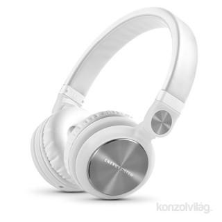 Energy Sistem EN 426737 Headphones DJ2 fehér zárt mikrofonos fejhallgató PC