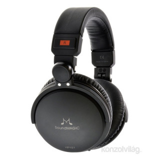 SoundMAGIC HP151 Over-Ear fekete fejhallgató PC