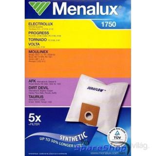 Menalux 1750 5 db szintetikus porzsák + 1 microfilter Otthon