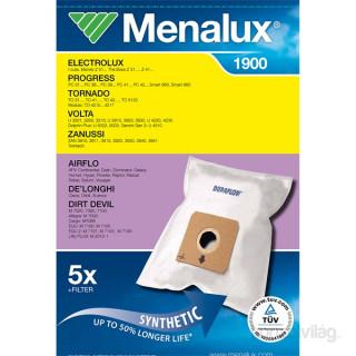 Menalux 1900 5 db szintetikus porzsák + 1 microfilter Otthon