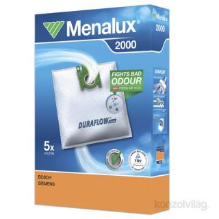 Menalux 2000 5 db szintetikus porzsák + 1 microfilter Otthon