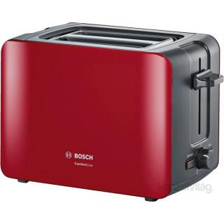 Bosch TAT6A114 piros kenyérpirító Otthon