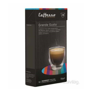 Caffesso Grande Gusto Nespresso kompatibilis kapszula Otthon