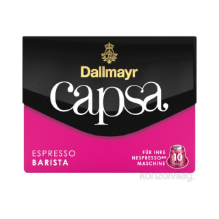 Dallmayr Espresso Barista Nespresso kompatibilis kávé kapszula 10 db Otthon