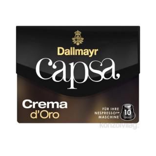 Dallmayr Crema dOro Nespresso kompatibilis kávé kapszula 10 db Otthon