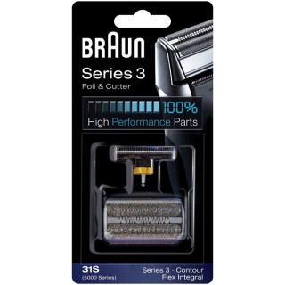Braun 31S combipack Otthon