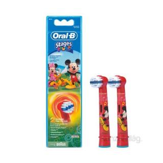 Oral-B EB10-2 gyermek fogkeféhez pótfej Frozen Otthon