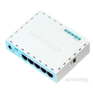 MikroTik hEX RB750Gr3 L4 256MB 5x GbE port router PC