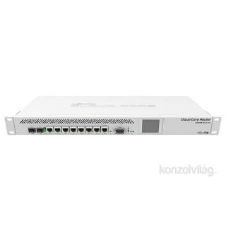 MikroTik CCR1009-7G-1C-1S+ 7port GbE 1xSFP/RJ45 combo 1xSFP+ 9magos CPU Cloud Core Router PC