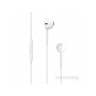 Apple Earpods fülhallgató távvezérlővel és mikrofonnal (3,5mm jack csatlakozó) PC