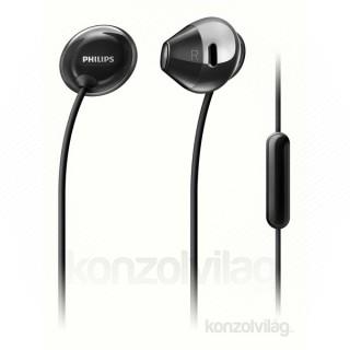 Philips SHE4205BK/00 fekete mikrofonos fülhallgató PC