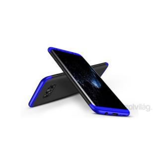GKK GK0211 3in1 Samsung G955 S8+ fekete/kék három részből álló védőtok PC