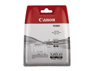 Canon PGI-520BK fekete patron twin pack PC