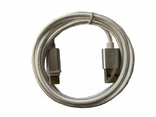 BH187 Micro USB kábel 1m fehér Mobil
