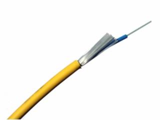 Rágcsálóvédett, univerzális lazacsöves kábel - 12 szál, OS2 (2000 m) PC
