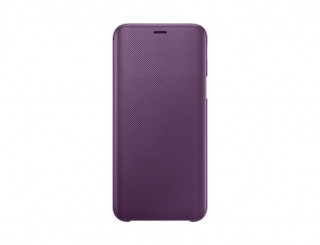 Samsung Galaxy J6 book cover, Lila Mobil