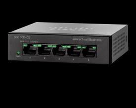 Cisco SG100D-08P 8-Port PoE Gigabit Desktop Switch PC