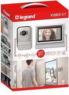 Legrand 2 vezetékes színes videó kaputelefon szett 10