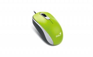 Genius egér DX-110 Zöld USB PC