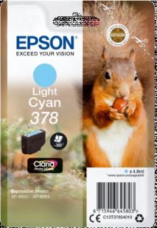 Singlepack Light Cyan 378 Claria Photo HD Ink PC