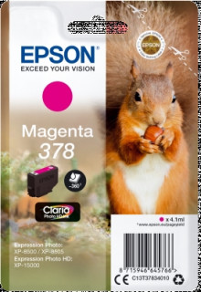 Singlepack Magenta 378 Claria Photo HD Ink PC